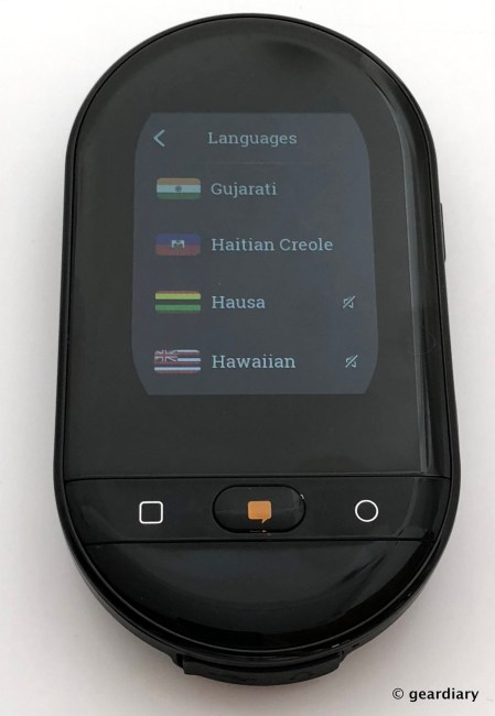 GearDiary Travis Touch: The Connected Pocket Translator for Confident Travel