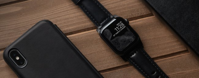 Nomad Shell Cordovan Strap for Apple Watch Is Pure Class
