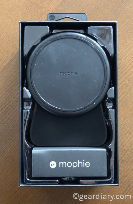 Charge in Style with the Mophie Charge Stream Desk Stand
