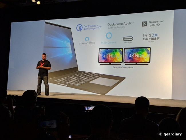 Qualcomm 8cx Computer Platform: Extreme Performance, Battery Life, and Connectivity