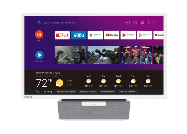 """Funai's New Philips 24"""" Kitchen Android TV Is Perfect for Your Kitchen Countertop"""