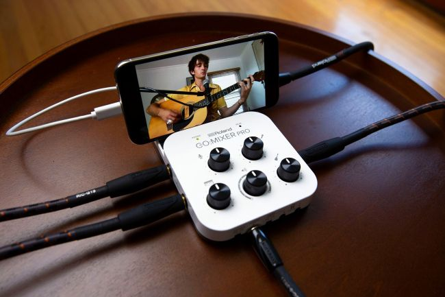 The Roland GO:MIXER Pro Lets You Bring Your Full Creativity Wherever You Go