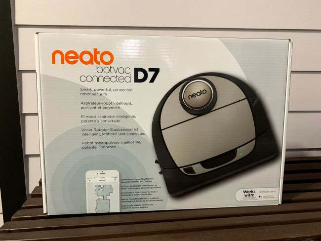 Neato D7 Connected Is an Improvement from the D6, Especially If You Have Pets