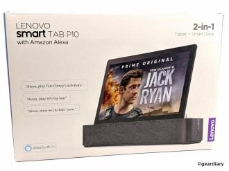 01-Lenovo Smart Tab P10 2-in-1 Smart Dock