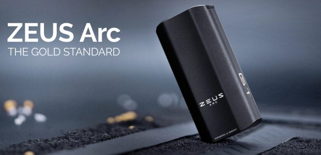 ZEUS ARC GT High-Performance Dry Herb Vape Is a Compact Powerhouse