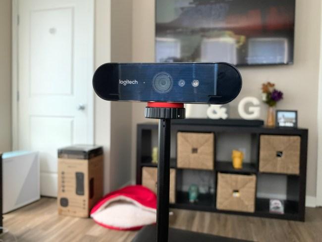 Logitech BRIO Webcam Brings 4K to Your Live Streams and Skype Calls
