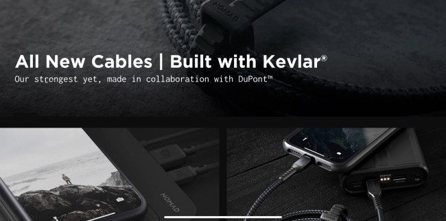 Nomad's New Cables Are Kevlar-Strong