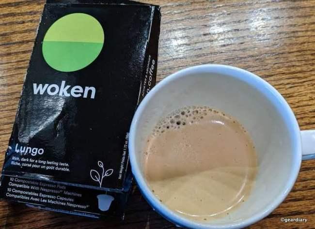 Woken Compostable Espresso Pods Remove the Single-Serve-Coffee-Making Guilt