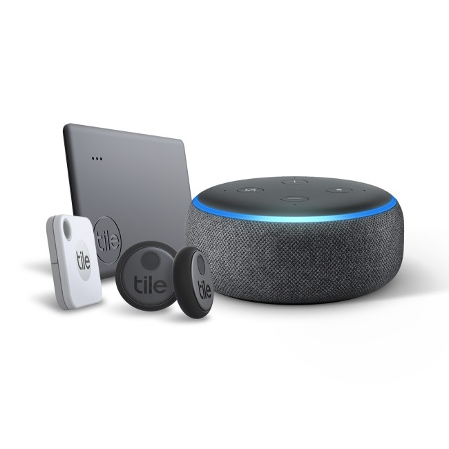 Tile's Latest Bundle Brings Alexa to Your Tracker