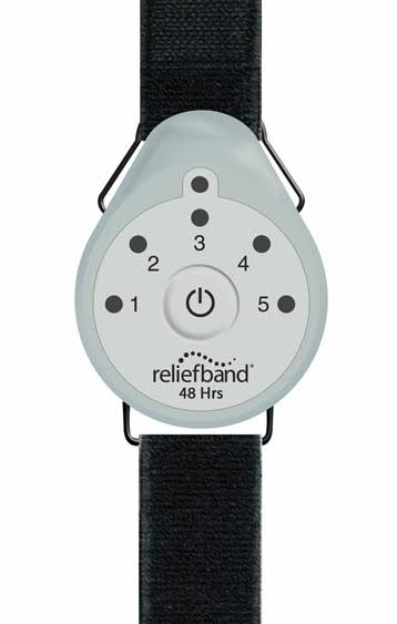 Reliefband Treats Nausea & Morning Sickness