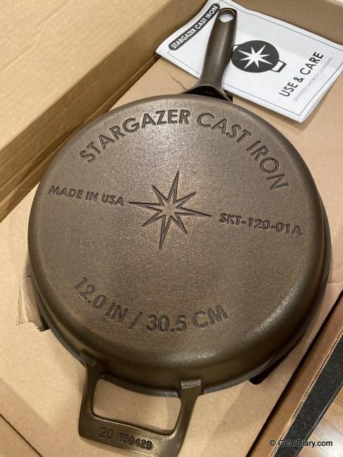 Stargazer Cast Iron Skillets Impress Fusing Innovative Design and Vintage Cast Iron Quality