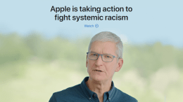 Apple Unveils $100 Million Racial Equity and Justice Initiative
