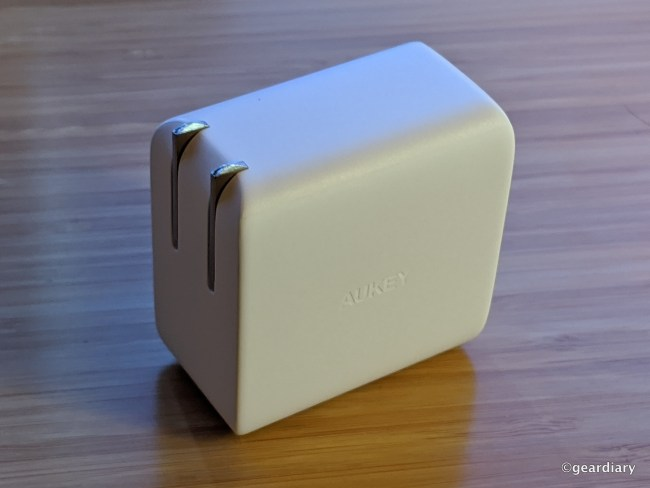 The Tiny Aukey Omnia 100W PD Wall Charger Can Power All of Your Gear
