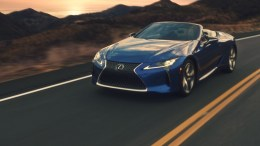 Lexus Tries to Capture the Childlike Joy of the Outdoors with Their LC Convertible