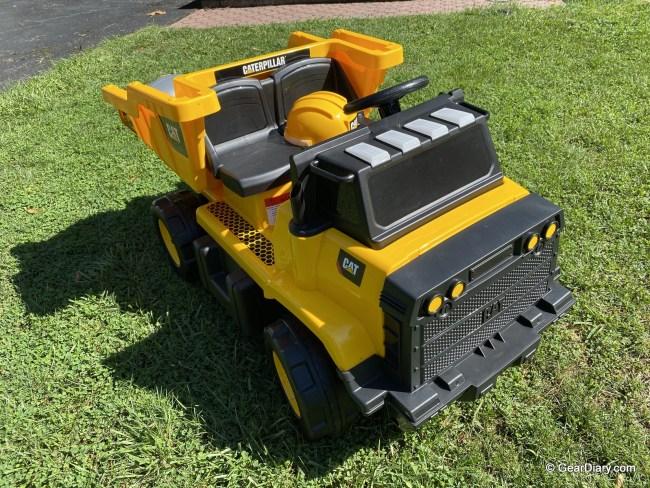 Kid Trax CAT Mining Dump Truck Electric Ride-On Is a Kids' Dream Come True