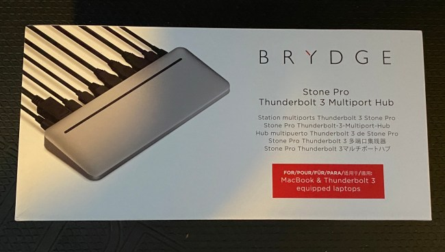 Get Connected with the Brydge Stone Pro Thunderbolt 3 Multiport Hub for MacOS and Windows