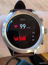 Your heart rate.