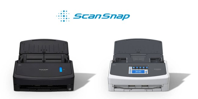 Fujitsu ScanSnap iX1600 and ScanSnap iX1400