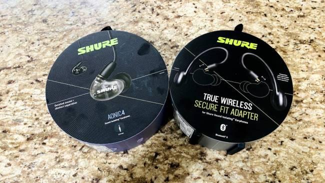 Shure AONIC 4 Sound Isolating Earphones