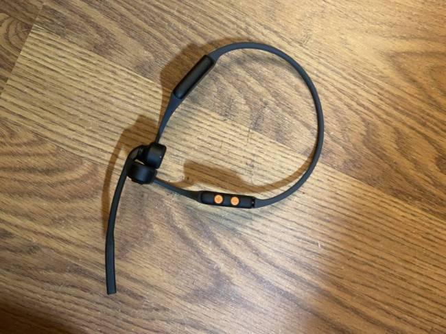 AfterShokz OpenComm Bone Conduction Stereo Bluetooth Headset