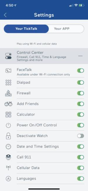 TickTalk 4 app