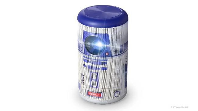 Nebula Capsule II Star Wars R2-D2 Limited Edition Smart Mini Projector