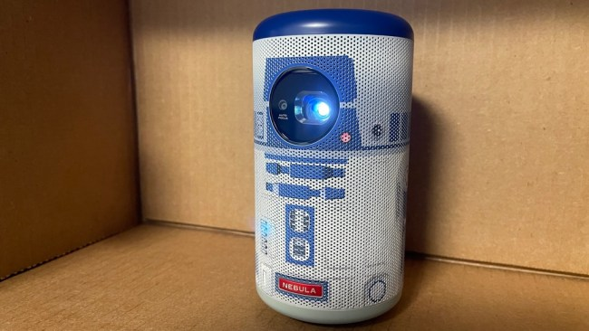 Anker Nebula Capsule II R2-D2 smart mini projector