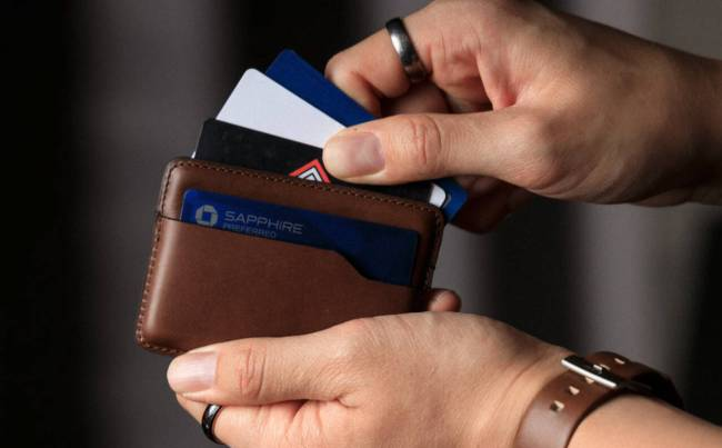 The Nomad Card Wallet