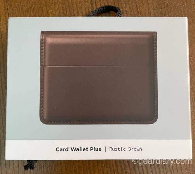 Nomad Card Wallet Plus