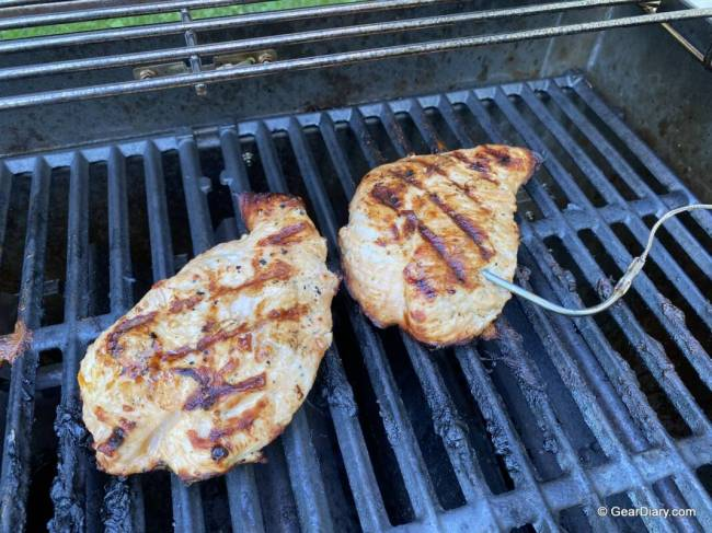 Turkey tenderloin cooked on the Weber Spirit SX-315 Smart Grill