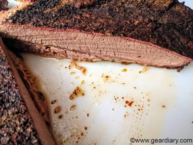 Brisket cooked with FireBoard 2