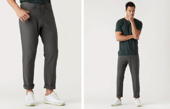 Olivers Apparel Passage Pant on a male model