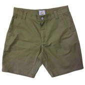 Front of LIVSN Flex Canvas Shorts