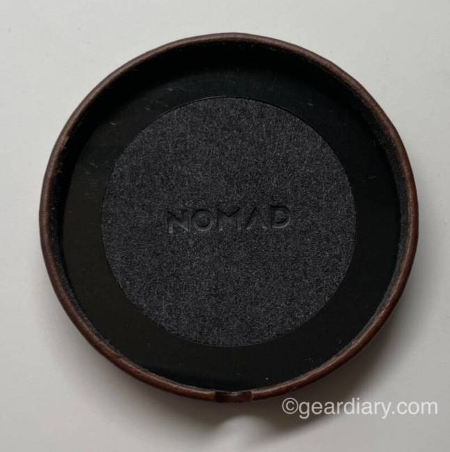 Nomad Leather Cover for MagSafe Charger