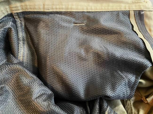 LIVSN Flex Canvas Shorts lining