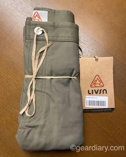 LIVSN Flex Canvas Shorts