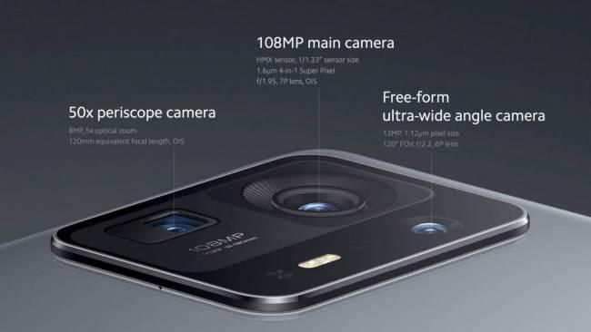 Xiaomi MIX 4 cameras