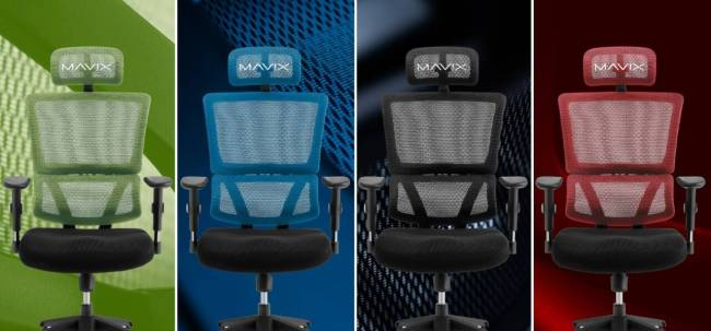 Mavix M4 Gaming Chair color options