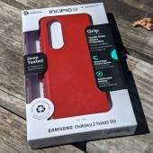 Incipio Grip for Samsung Galaxy Z Fold3 in retail box.