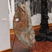 Art on display at the San Angelo Museum of Fine Art.