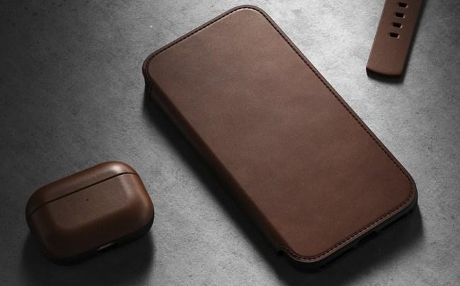 Nomad Modern Leather Folio