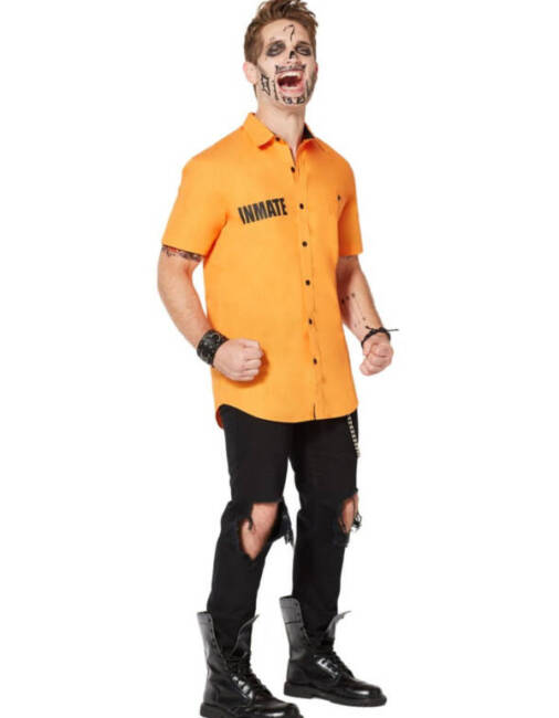 Arkham Inmate Work Shirt