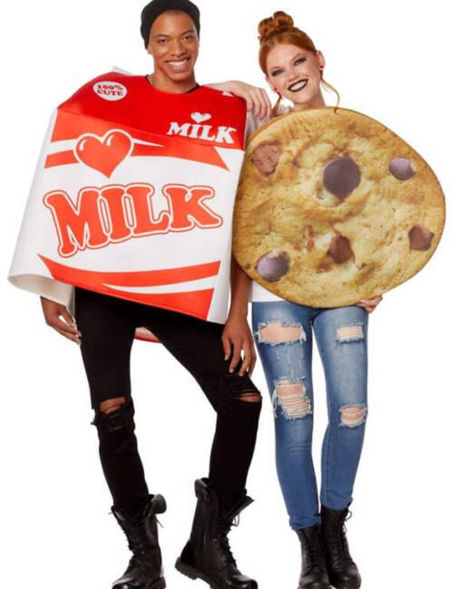 Milk & Cookies Halloween Costume