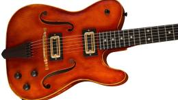 Limited to 60, Custom Fender Violinmaster Tele Relic Stuns with Stradivarius Features