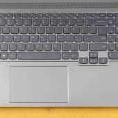 Keyboard on the Lenovo ThinkBook 16p Gen 2.