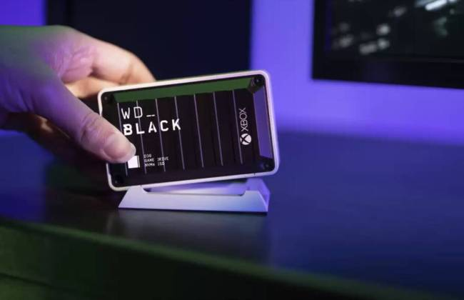 WD_BLACK D30 Game Drive SSD for Xbox