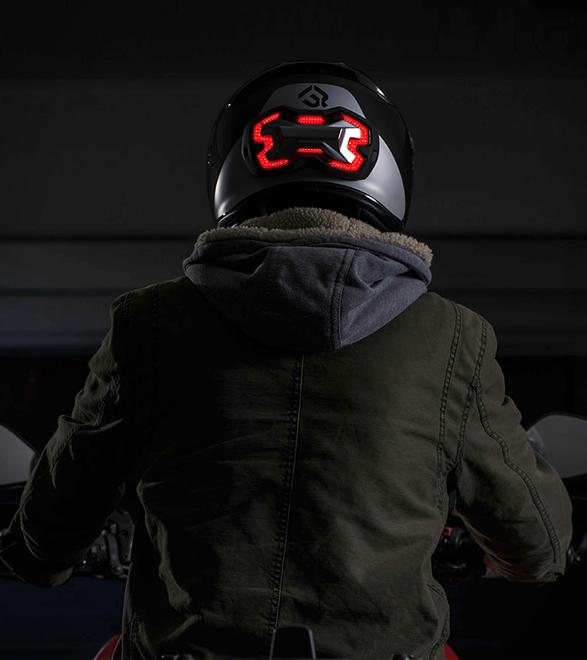 Motorcycle Helmet Brake Light – Safety a Smarter Way