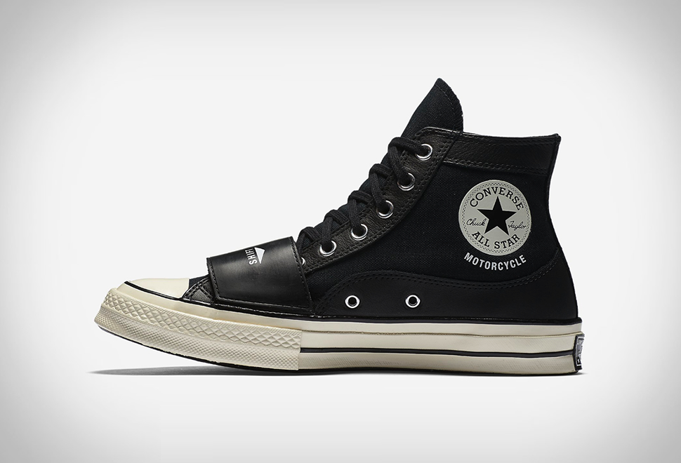 Oh Yeah! Converse Sneakers Motorcycle Chucks–Bringing Back the 70s