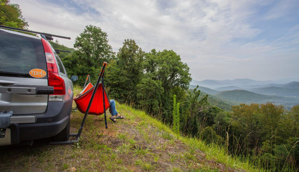 ENO Roadie Hammock Stand: Park Your Car, Hang Your Hammock