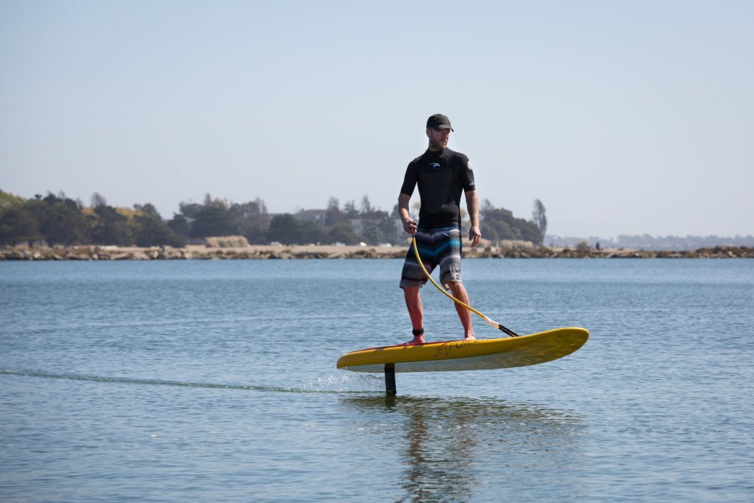 e-Foiler Board by Jetfoiler: Surfboard Without The Surf